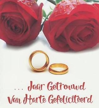 jaar getrouwd